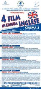 4 Film in Inglese a Maggio 2015